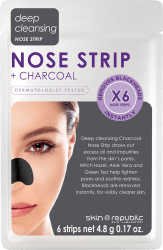 SKIN REPUBLIC Charcoal Nose Strips (6 PAIRS)